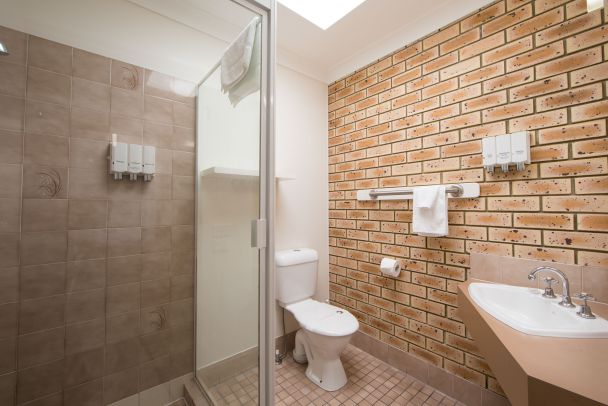 Two Bedroom Family Unit Bathroom